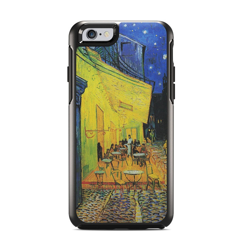 OtterBox Symmetry iPhone 6s Case Skin design of Painting, Art, Yellow, Watercolor paint, Illustration, Modern art, Visual arts, Street, Infrastructure, Tree with green, black, blue, gray, red colors