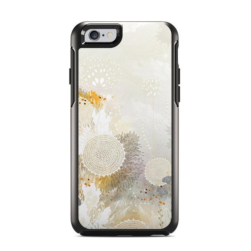 White Velvet OtterBox Symmetry iPhone 6s Skin