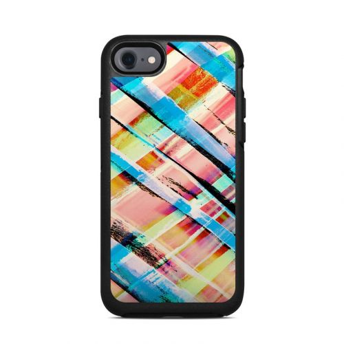 Check Stripe OtterBox Symmetry iPhone 8 Case Skin