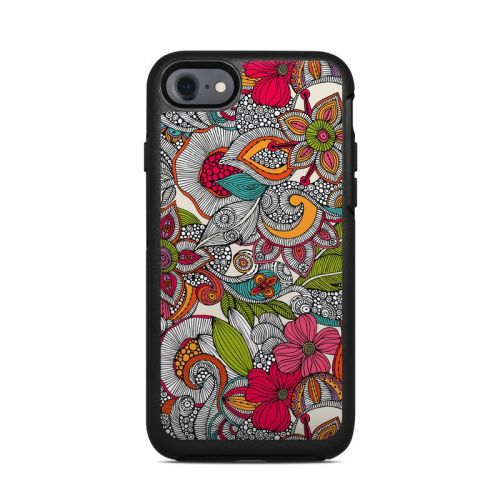 Doodles Color OtterBox Symmetry iPhone 7 Skin