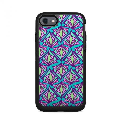 Fly Away Teal OtterBox Symmetry iPhone 8 Case Skin