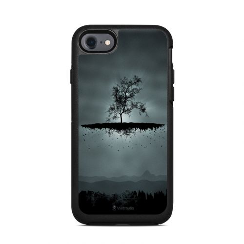 Flying Tree Black OtterBox Symmetry iPhone 8 Case Skin