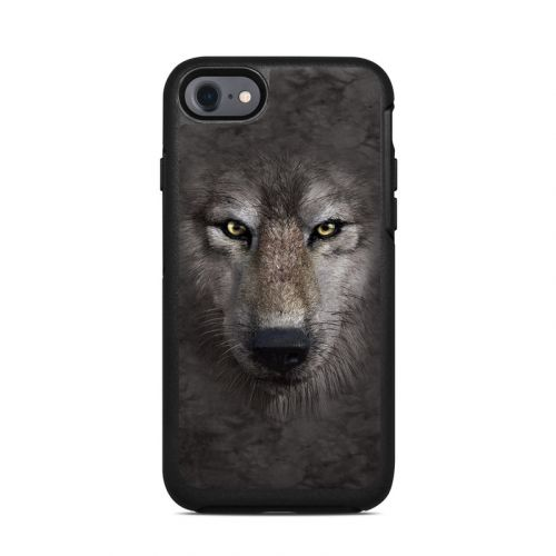Grey Wolf OtterBox Symmetry iPhone 8 Case Skin