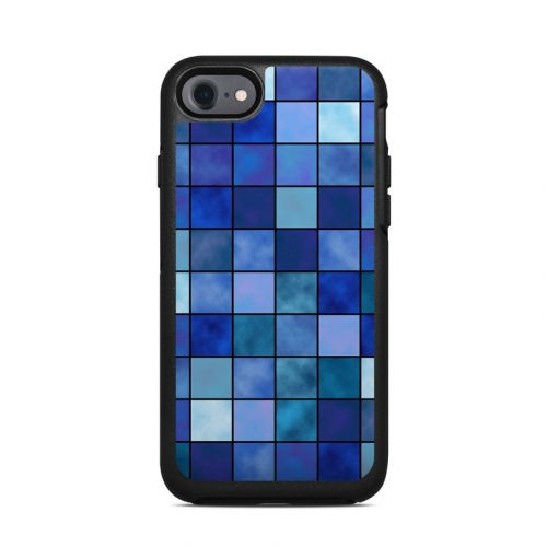 Blue Mosaic OtterBox Symmetry iPhone 7 Skin