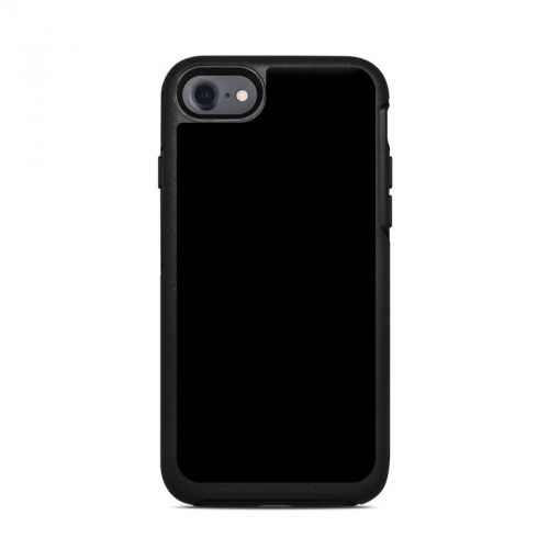 Solid State Black OtterBox Symmetry iPhone 7 Skin