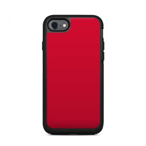 Solid State Red OtterBox Symmetry iPhone 7 Skin
