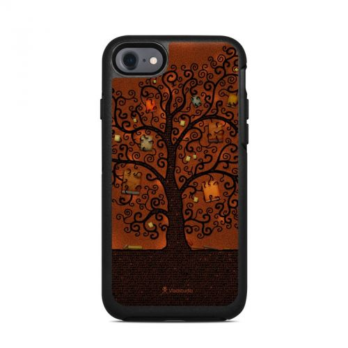 Tree Of Books OtterBox Symmetry iPhone 7 Skin