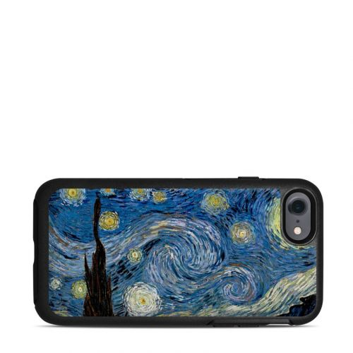 Starry Night OtterBox Symmetry iPhone 7 Skin