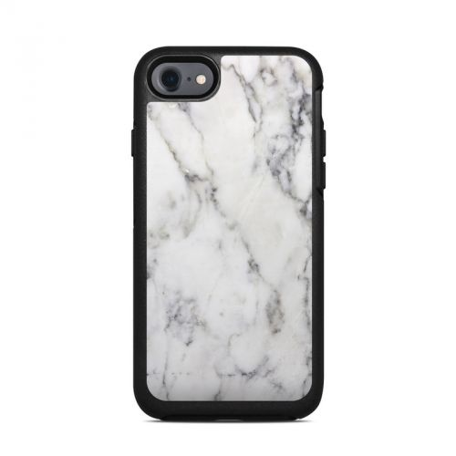 White Marble OtterBox Symmetry iPhone 8 Case Skin