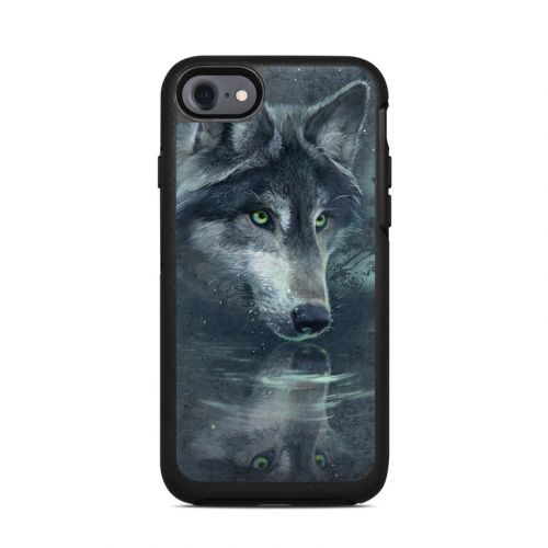 Wolf Reflection OtterBox Symmetry iPhone 7 Skin