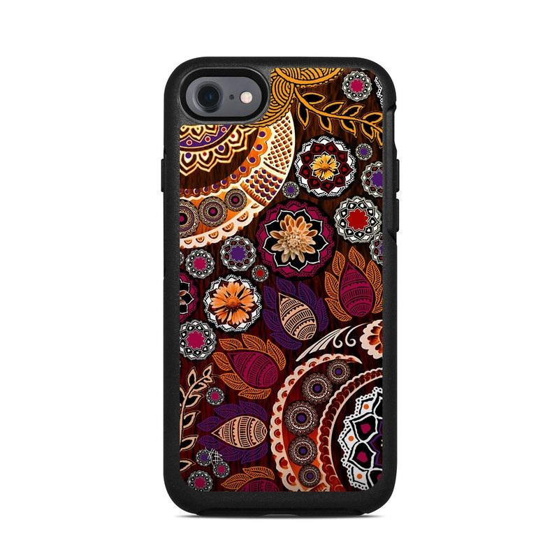 Autumn Mehndi OtterBox Symmetry iPhone 7 Skin