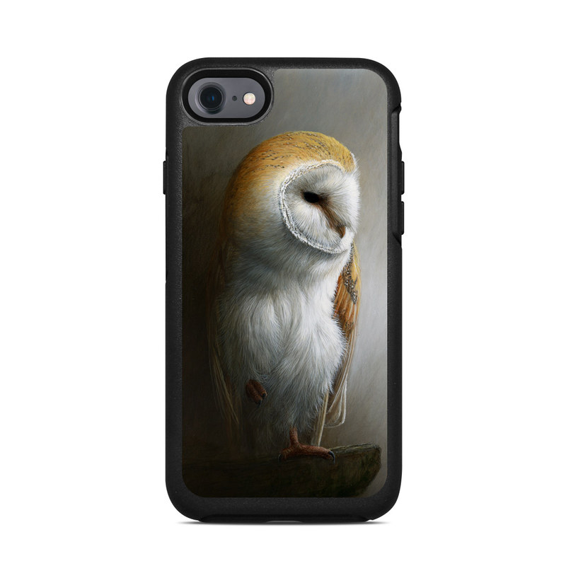 Barn Owl OtterBox Symmetry iPhone 8 Case Skin