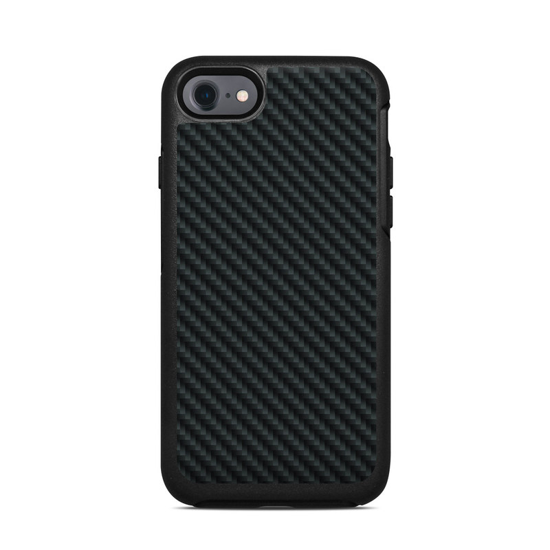 Carbon OtterBox Symmetry iPhone 8 Case Skin