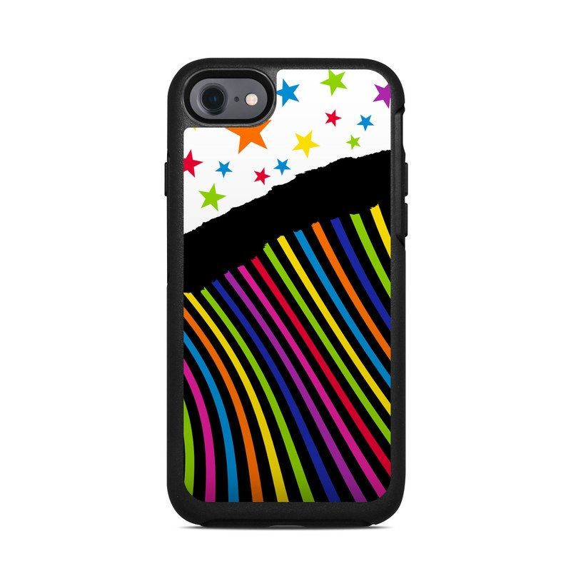 Color Wave OtterBox Symmetry iPhone 8 Case Skin