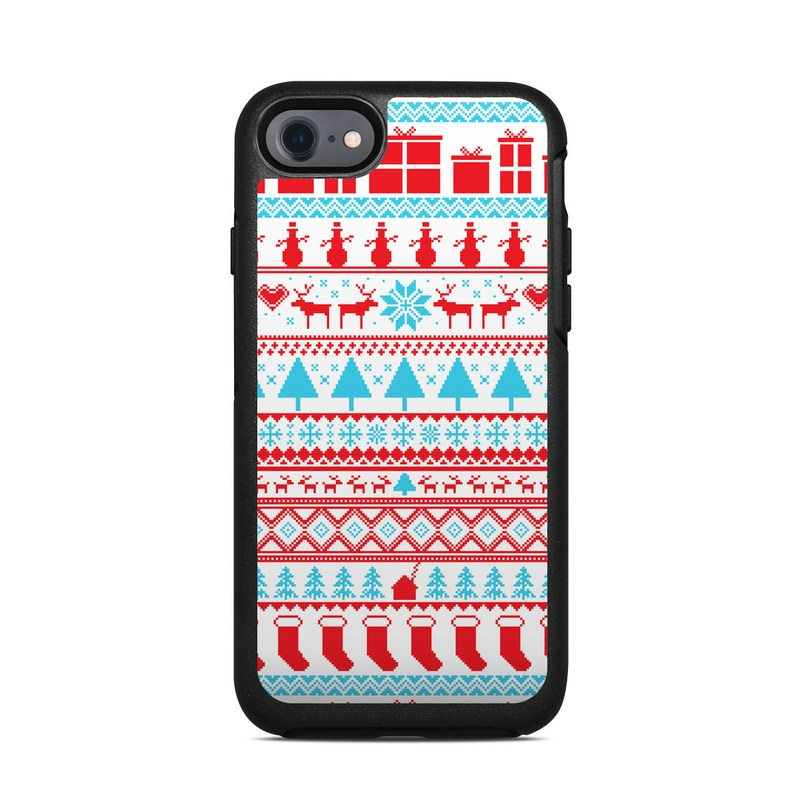 Comfy Christmas OtterBox Symmetry iPhone 7 Skin