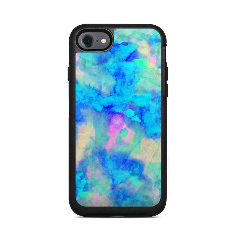 Electrify Ice Blue OtterBox Symmetry iPhone 8 Case Skin