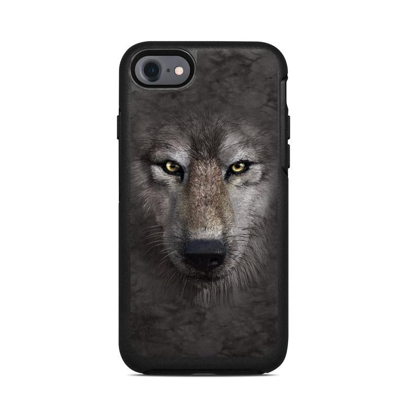 Grey Wolf OtterBox Symmetry iPhone 8 Case Skin