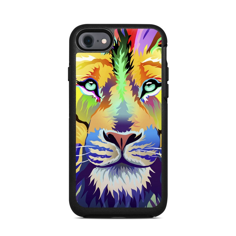 King of Technicolor OtterBox Symmetry iPhone 8 Case Skin