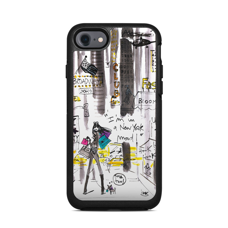 My New York Mood OtterBox Symmetry iPhone 8 Case Skin
