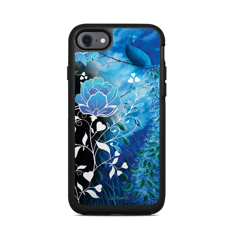 Peacock Sky OtterBox Symmetry iPhone 8 Case Skin