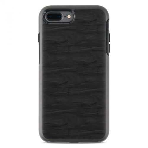 Black Woodgrain OtterBox Symmetry iPhone 8 Plus Case Skin