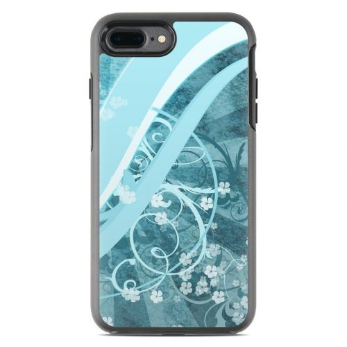 Flores Agua OtterBox Symmetry iPhone 7 Plus Skin