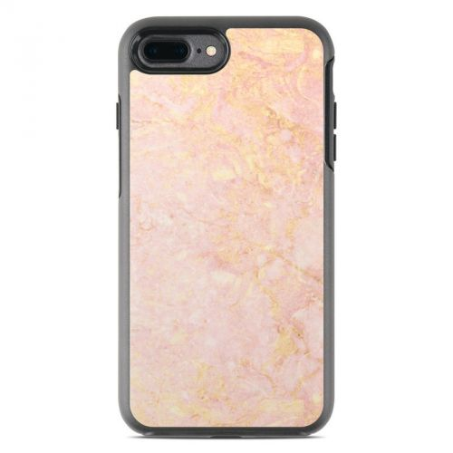 Rose Gold Marble OtterBox Symmetry iPhone 8 Plus Case Skin