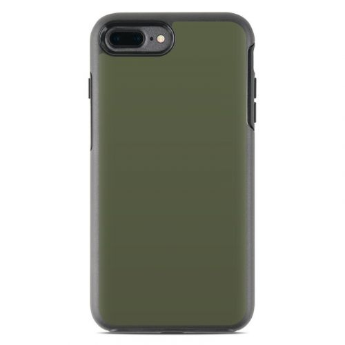 Solid State Olive Drab OtterBox Symmetry iPhone 8 Plus Case Skin