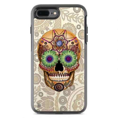Sugar Skull Bone OtterBox Symmetry iPhone 8 Plus Case Skin