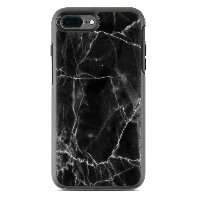 Black Marble OtterBox Symmetry iPhone 7 Plus Skin