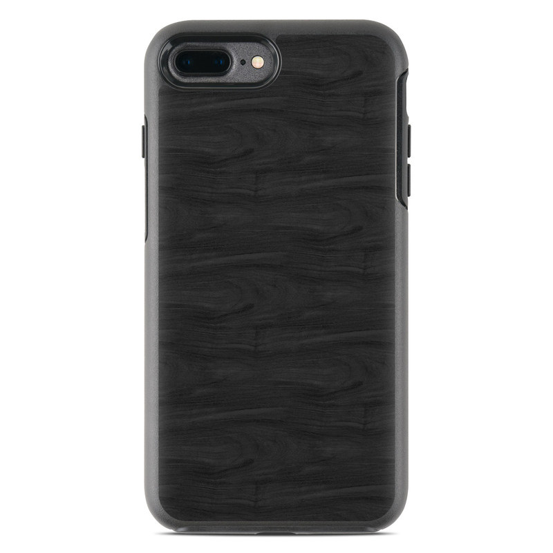Black Woodgrain OtterBox Symmetry iPhone 7 Plus Skin