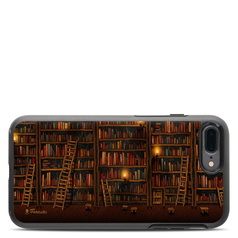 Library OtterBox Symmetry iPhone 8 Plus Case Skin