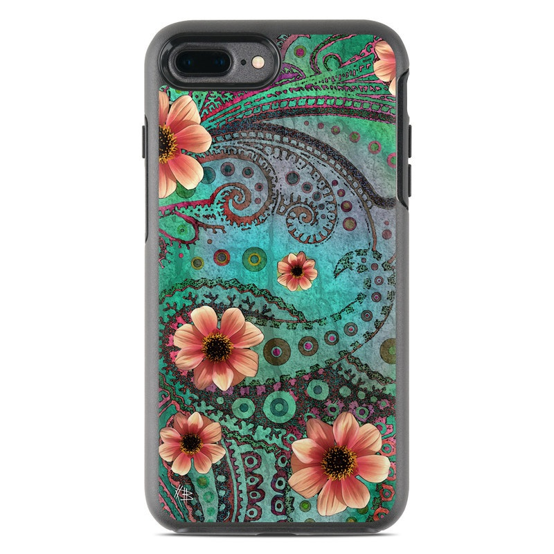 Paisley Paradise OtterBox Symmetry iPhone 8 Plus Case Skin