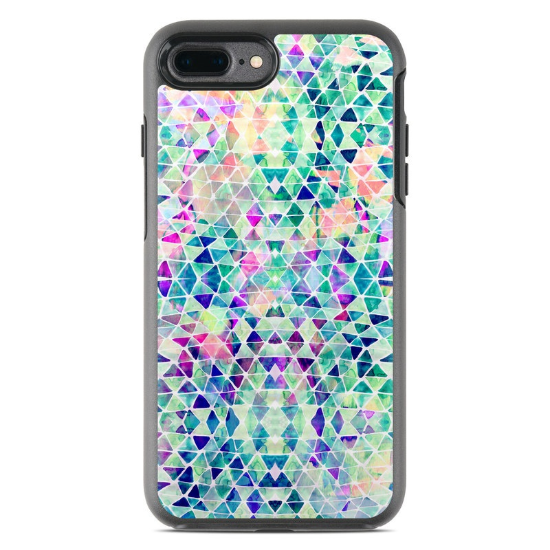 Pastel Triangle OtterBox Symmetry iPhone 7 Plus Skin