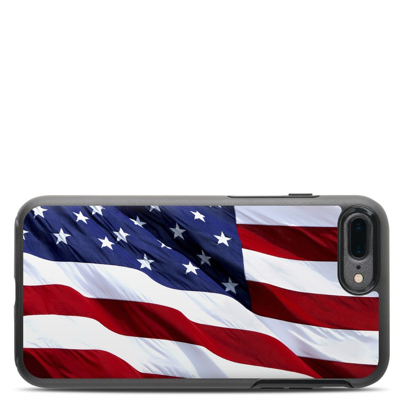 Patriotic OtterBox Symmetry iPhone 7 Plus Skin