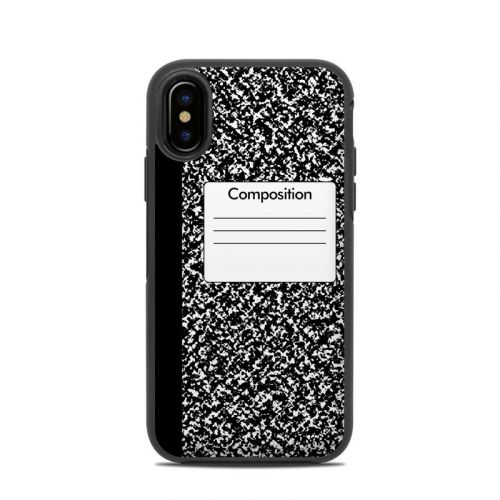 Composition Notebook OtterBox Symmetry iPhone X Skin