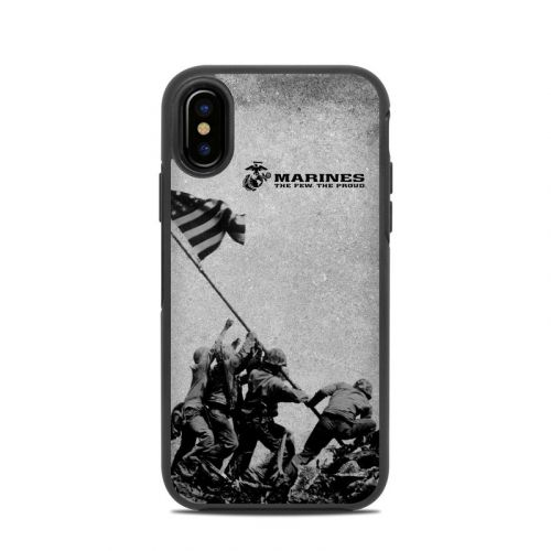 Flag Raise OtterBox Symmetry iPhone X Case Skin