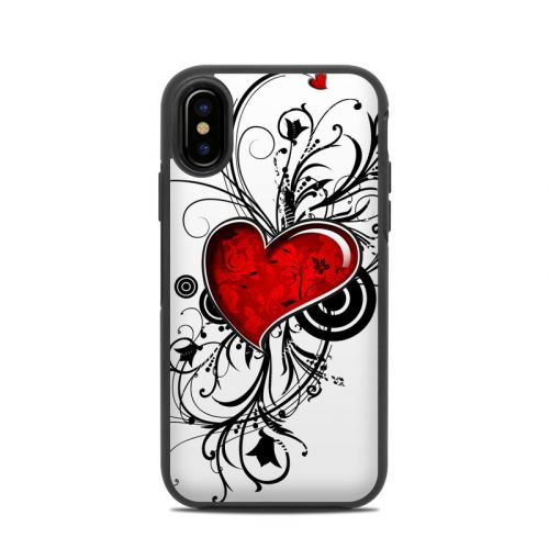 My Heart OtterBox Symmetry iPhone X Case Skin