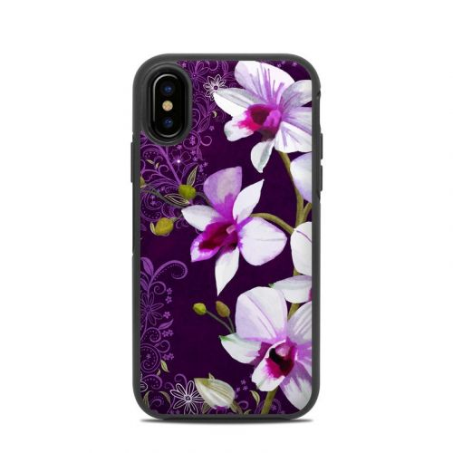 Violet Worlds OtterBox Symmetry iPhone X Case Skin