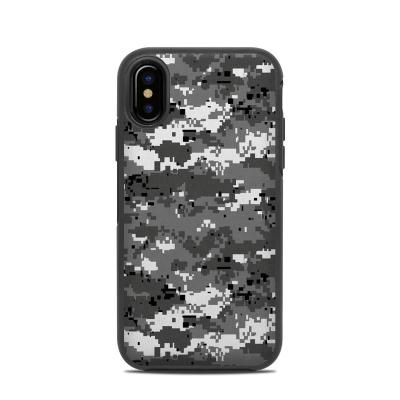 quality design 34e0b 28b2f Digital Urban Camo OtterBox Symmetry iPhone X Case Skin