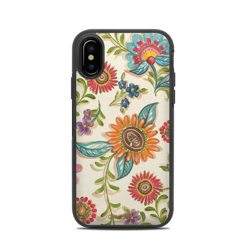 Olivia's Garden OtterBox Symmetry iPhone X Case Skin