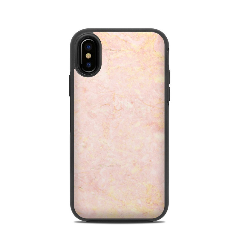 size 40 bedcb 63274 Rose Gold Marble OtterBox Symmetry iPhone X Case Skin