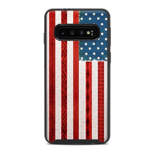 American Tribe OtterBox Symmetry Galaxy S10 Case Skin