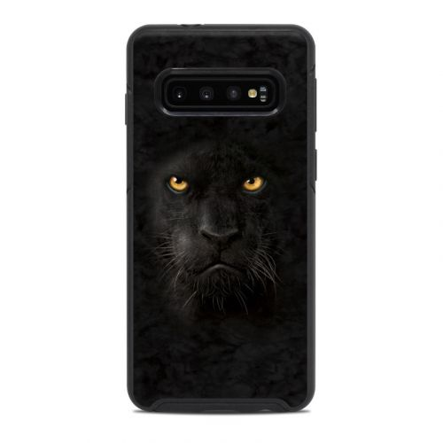 Black Panther OtterBox Symmetry Galaxy S10 Case Skin