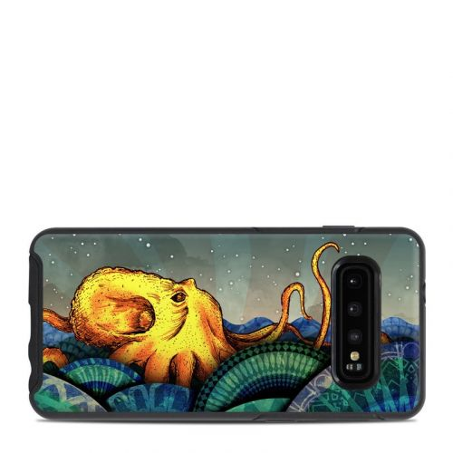 From the Deep OtterBox Symmetry Galaxy S10 Case Skin