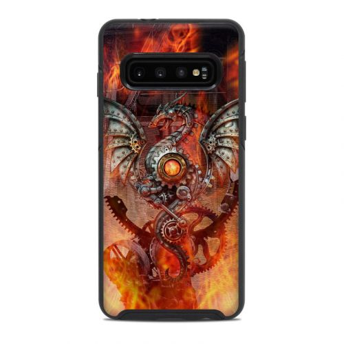 Furnace Dragon OtterBox Symmetry Galaxy S10 Case Skin