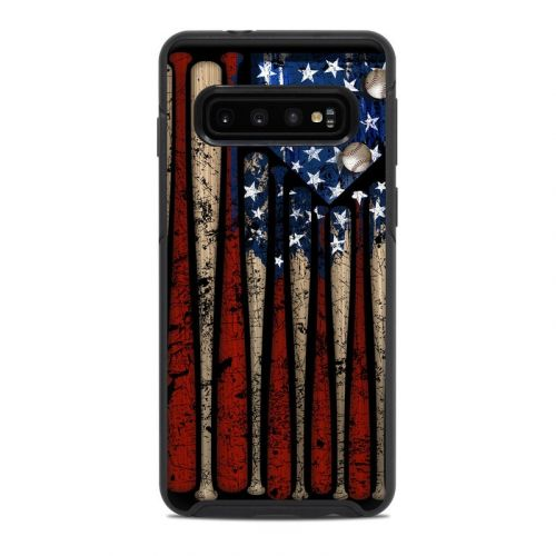 Old Glory OtterBox Symmetry Galaxy S10 Case Skin