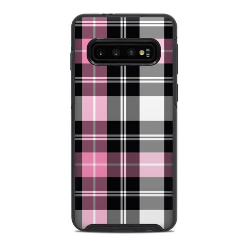 Pink Plaid OtterBox Symmetry Galaxy S10 Case Skin