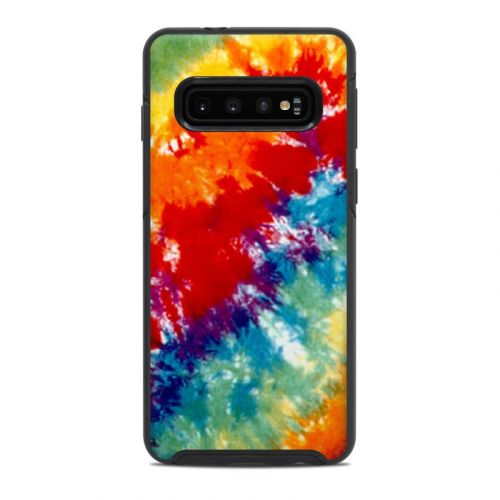 Tie Dyed OtterBox Symmetry Galaxy S10 Case Skin