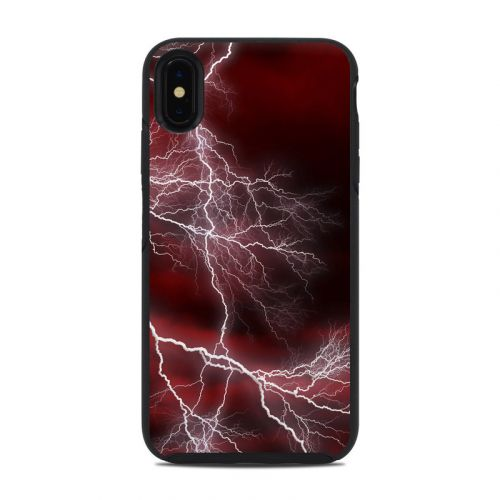 Apocalypse Red OtterBox Symmetry iPhone XS Max Case Skin